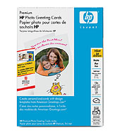 HP Matte Half-fold Photo Greeting Cards-20 cards - HP Special Occasion Papers