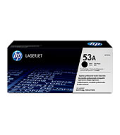 HP 53A Black LaserJet Toner Cartridge - HP Black and White Laser Toner Printer Cartridges