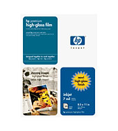 HP Premium High-gloss Film - HP Papers for Inkjet Printers