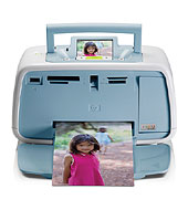 HP Photosmart A520 Printer series - Specialty Photo Inkjet Printers