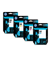 HP 88 Officejet Ink Cartridges - Ink Supplies