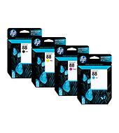 HP 88 Officejet Ink Cartridges - Ink Supplies