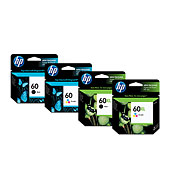 HP 60 Ink Cartridges - Ink Supplies