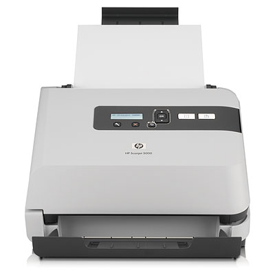 HP Scanjet 5000 Sheet-feed Scanner - Scanners