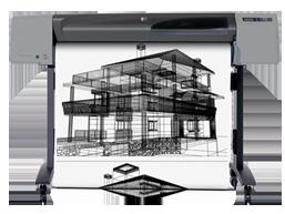 HP DJ 500 Mono 繪圖機原廠耗材 墨水 維修 禾洋資訊