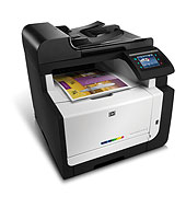 HP LaserJet Pro CM1415 Color Multifunction Printer series - Products for business