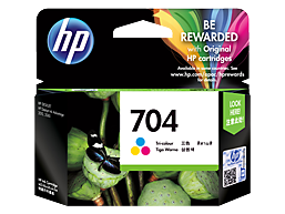 HP 704 Ink Cartridge