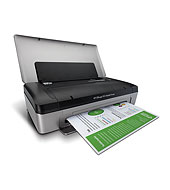 HP Officejet 100 Mobile Printer series - L411 - Mobile Inkjet Printers