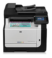 HP LaserJet Pro CM1415fn Color Multifunction Printer