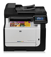 HP LaserJet Pro CM1415fnw Color Multifunction Printer