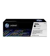 HP 305A Black LaserJet Toner Cartridge - HP Color Laser Toner Printer Cartridges