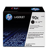 HP 90X Black LaserJet Toner Cartridge - HP Black and White Laser Toner Printer Cartridges