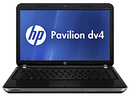 HP Pavilion dv4-4075la Entertainment Notebook PC