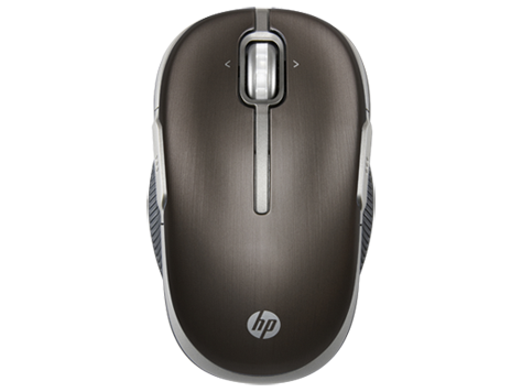 HP Wi-Fi Direct (Black) Mobile Mouse