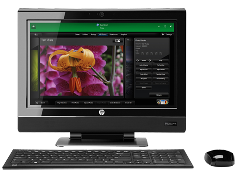 HP TouchSmart 310-1020 Desktop PC