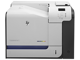 HP LaserJet Enterprise 500 color Printer M551 series