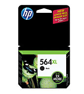 HP 564XL Black Ink Cartridge - HP Inkjet Printer Cartridges and Ink Supplies