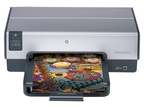 HP Deskjet 6540 Printer series
