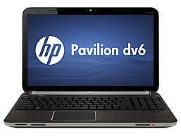 HP Pavilion dv6t-6c00 CTO Quad Edition Entertainment Notebook PC