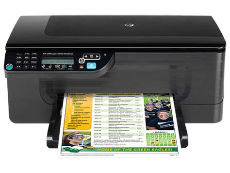 HP Officejet 4500 Desktop All-in-One Printer - G510b