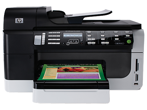 HP Officejet Pro 8610 e-All-in-One Printer series Basic Driver