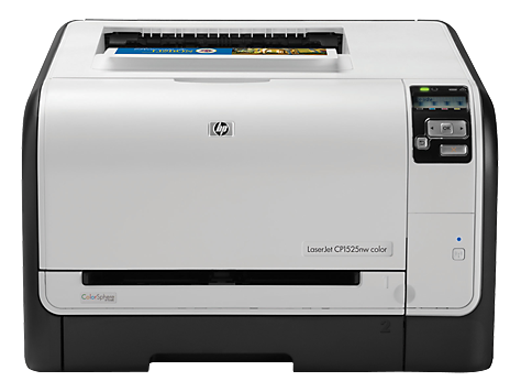 HP LaserJet Pro CP1525nw Color Printer