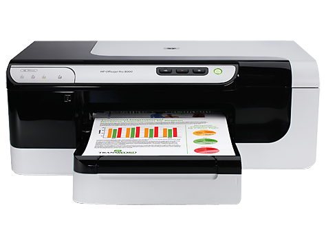 Stampante wireless HP Officejet Pro 8000 - A809a