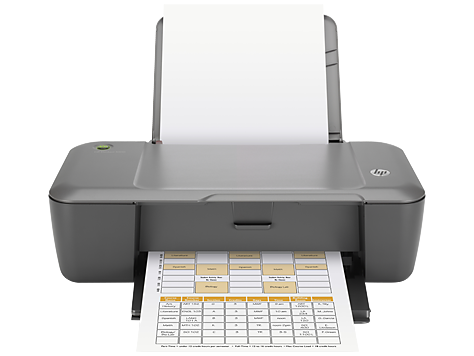 HP Deskjet 1000 Printer series - J110