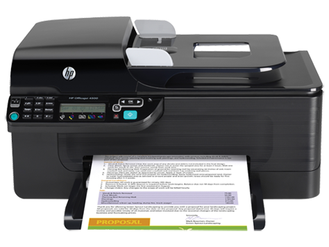 Impressora multifuncional HP Officejet 4500 - G510g