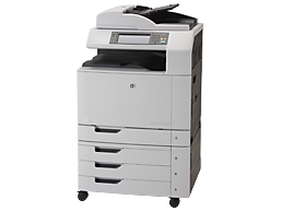 Plotter HP Color LaserJet CM6040 MFP