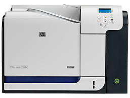 HP Color LaserJet CP3525n Printer