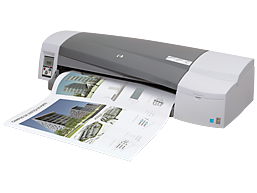 HP DesignJet 111 24-in Printer with Roll