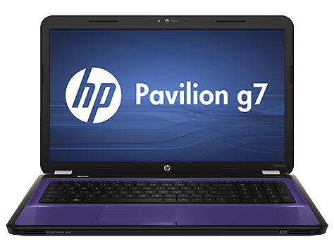 HP Pavilion g7-1073nr Notebook PC