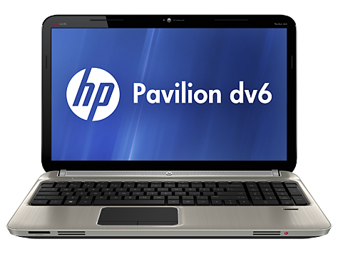 HP Pavilion dv6-6000 Entertainment Notebook PC series