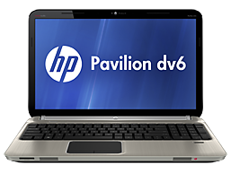 HP Pavilion dv6-6c40br Entertainment Notebook PC
