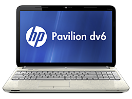 HP Pavilion dv6-6170la Entertainment Notebook PC