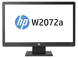 HP W2072a 20-inch Diagonal LED Backlit LCD Monitor
