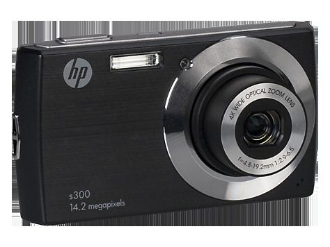 HP s300 Black Digital Camera