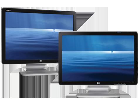 Serie de monitores de panel plano HP de 21 pulgadas