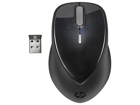 HP x5000 Wireless Mouse with Touch Scroll