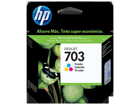 HP 703 Tri-color Original Ink Advantage Cartridge