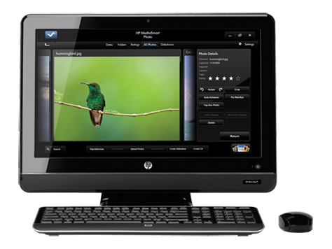 HP All-in-One 200-5100-serien, stationär PC