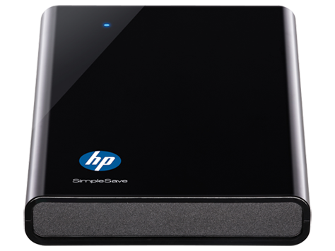 HP SimpleSave sd320a Portable Hard Drive