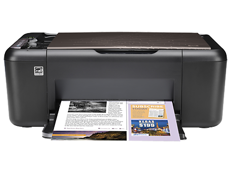 HP Deskjet Ink Advantage All-in-One Printer - K209g