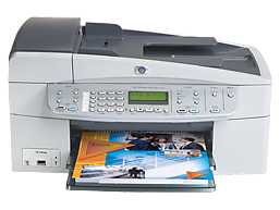 Impressora Fax Scanner Copiadora HP Officejet 6210 All-in-One
