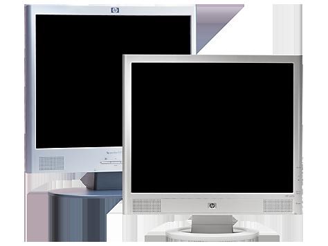 Monitor LCD de 17 pulgadas HP vs17e