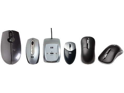 HP Wireless 3-button Optical Mouse