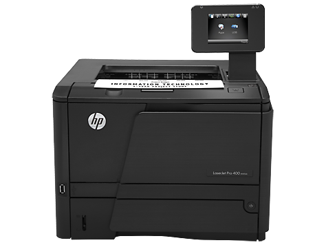 Hp laserjet pro 400 printer m401d software and driver downloads.