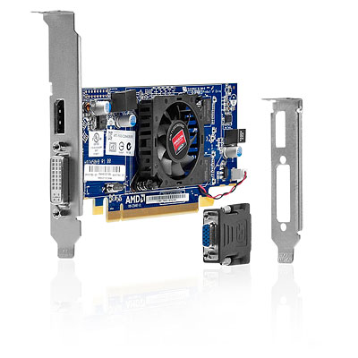 HP AMD Radeon HD 7450 DP (1GB) PCIe x16 Crd B1R44AA