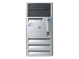 HP Compaq d230 Base Model Microtower Desktop PC